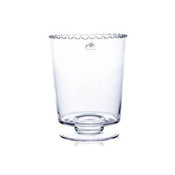 Sandra Rich Vase Zu Fuß D19xh24,5cm Glas