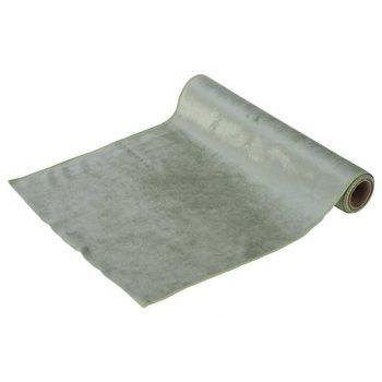 Cosy @ Home Tischlaufer Velvet Mint 35x200cm Textil