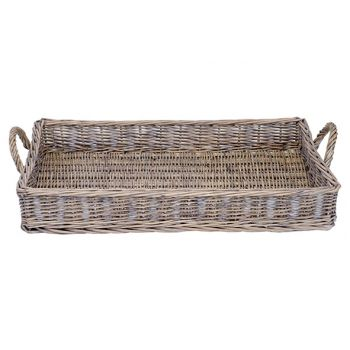 Cosy @ Home 49x34xh12.5cm Willow Basket
