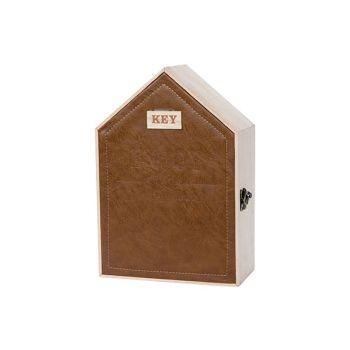 Cosy @ Home Schrank Keys Natural 19x9xh27cm Holz