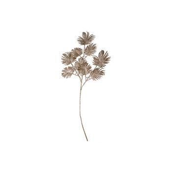 Cosy @ Home Farn Zweige Glitter Kupfer 72cm