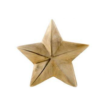 Cosy @ Home Stern Mat Gold 20x3,5xh20cm Keramik