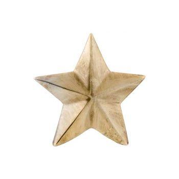Cosy @ Home Stern Mat Gold 12x2,5xh12cm Keramik