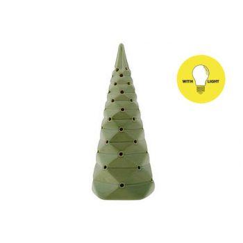 Cosy @ Home Weihnachtsbaum Folded Grun 9x9xh22cm Por