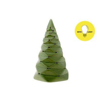Cosy @ Home Weihnachtsbaum Folded Grun 9x9xh15,5cm P