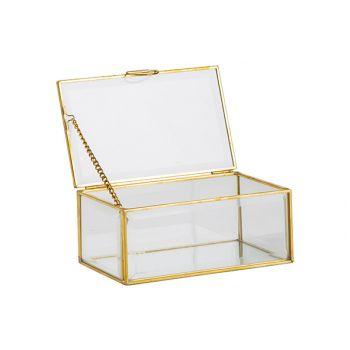 Cosy @ Home Dose Gold 15x9xh6,5cm Glas
