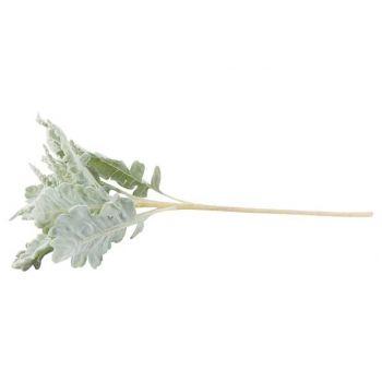 Cosy @ Home Blatter Zweige Oak Flocked Grun 68cm