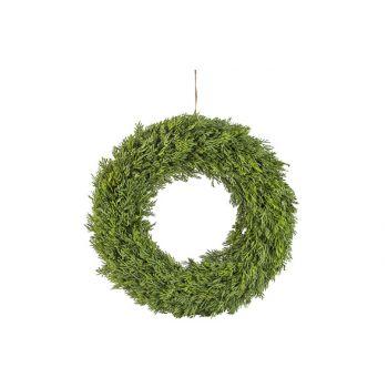 Cosy @ Home Weihnachtskranz Fir Grun D33cm