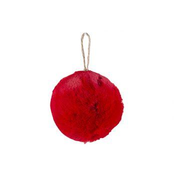 Cosy @ Home Ball Aufhanger Rot D9cm Plusch