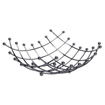 Cosy & Trendy Obstkorb Schwarz 31x31xh13cm Quadratisch