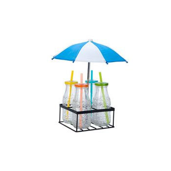 Cosy & Trendy Holder With 4 Bottles And Umbrella
