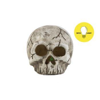Cosy @ Home Totenkopf Led Excl2xaabatt Hat Skull Gra