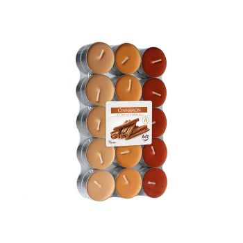 Cosy & Trendy Ct Set 30 Tea Light Orange-cinnamon 4h