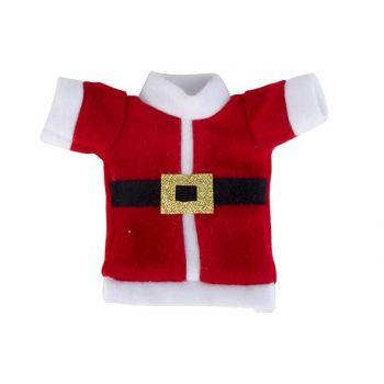 Cosy @ Home Bestecktasche Santa Costume Rot Weiss 10