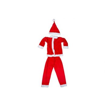 Cosy @ Home Weihnachtsmannkostum Boys 3pcs 4-6y Rot