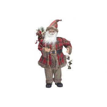 Cosy @ Home Santa Squares Rot 40x30xh90cm Kunststoff