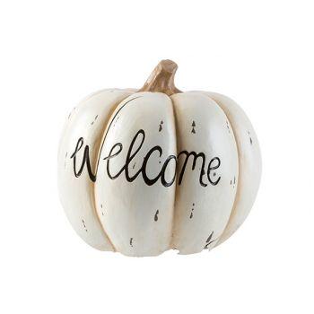 Cosy @ Home Kurbisse Welcome Cream 29x29xh27cm Resin