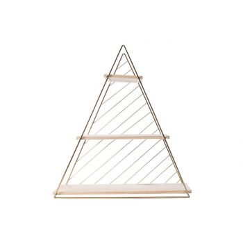 Cosy @ Home Decorack Triangle Gold D60 47x13,5xh50cm