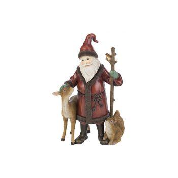 Cosy @ Home Santa Deer Bird Rot 181x12,9xh29,6cm Res