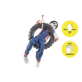Cosy @ Home Puppe In Tire Animation 40x12xh80cm
