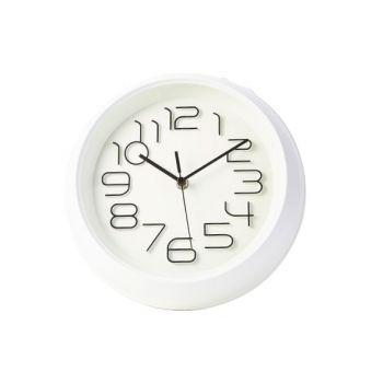 Cosy & Trendy Uhr Weiss D26xh5,3cm Rund