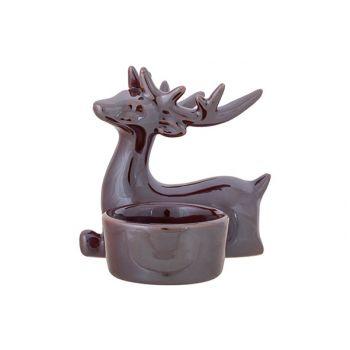 Cosy @ Home Teelichthalter Lustre Finish Deer Antler
