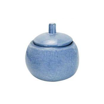 Cosy & Trendy Sajet Blue Zuckerdose 25cl D9xh6.7-10cm