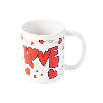 Cosy & Trendy Love 4 Becher 37cl D8xh9,5cm