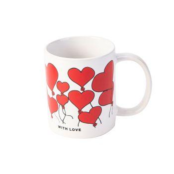 Cosy & Trendy Love 1 Becher 37cl D8xh9,5cm