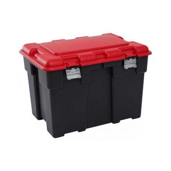 Keter Explorer Box 185l Black-red 84.2x60.2xh