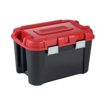 Keter Totem Box 60l Black-red 59x39.5xh36cm