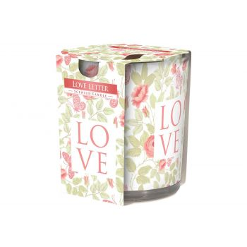 Cosy & Trendy Ct Scented Candle Glass Love Letter 22hr