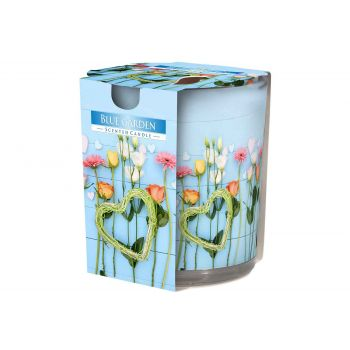 Cosy & Trendy Ct Scented Candle Glass Blue Garden 22hr