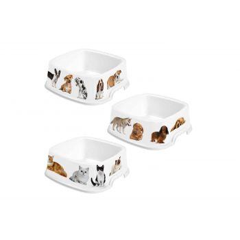 Hega Hogar Pet Mascotas Futtertrog Sortiert 1,6l