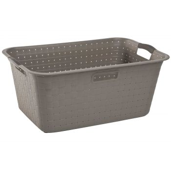 Curver Nuance Brown Laundry Basket 42l 59.8x