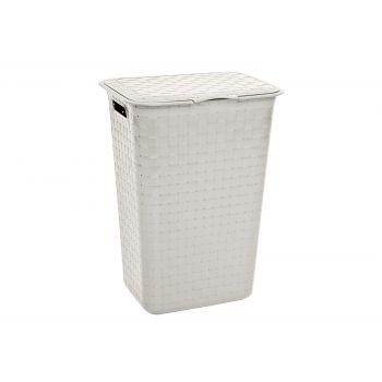 Curver Nuance White Laundry Box 48l 43x33.5x