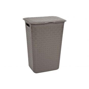 Curver Nuance Brown Laundry Box 48l 43x33.5x