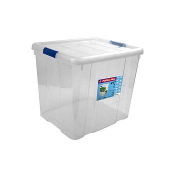 Hega Hogar Box 35l Transparant Nr17 42.2x35x35.5cm