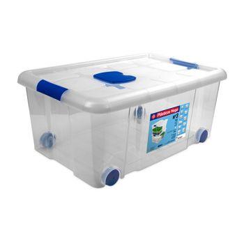Hega Hogar Box On Wheels 36l Transparant Nr3