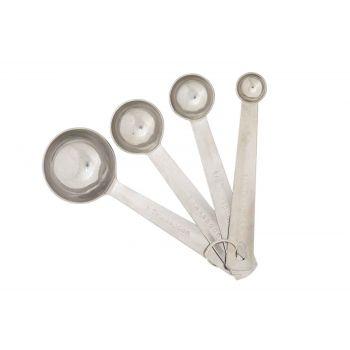 Cosy & Trendy Measuring Spoon Ss Set4 1.25-2.5-5-15ml