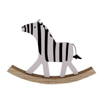 Cosy @ Home Schaukel Zebra Schwarz-weiss 22x2,5xh16c