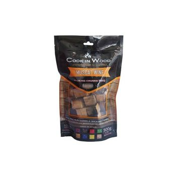 Cook In Wood Smoking Chunks Muscat Wine 500g