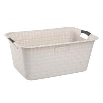 Curver Nuance White Laundry Basket 42l 59.8x38.