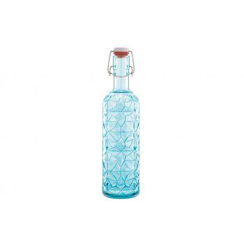 Bormioli Oriente Flasche Blau 1l