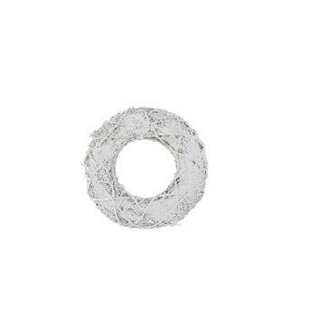 Cosy @ Home Zweigenkranz White Wash Natural D38xh7cm