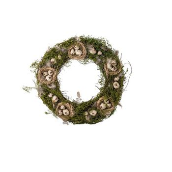 Cosy @ Home Kranz Nests Natural D42cm