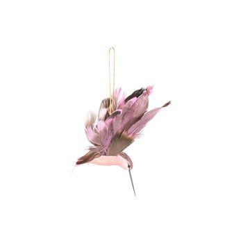 Cosy @ Home Kolibri Hanger Lila 18x7xh10cm