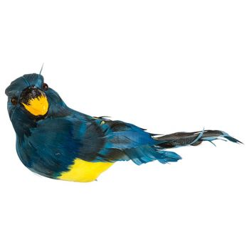 Cosy @ Home Papagei Clip Blau 18x9xh10cm Kunststoff