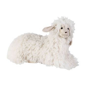 Cosy @ Home Schaf Wool Weiss 37x19xh20cm Foam