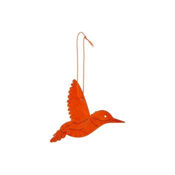 Cosy @ Home Kolibri Hanger Orange 14xh10cm Holz